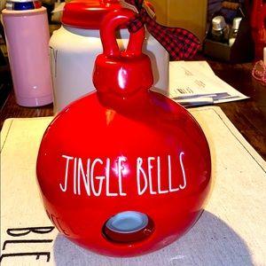 Rae Dunn Jingle Bells Ornament Birdhouse